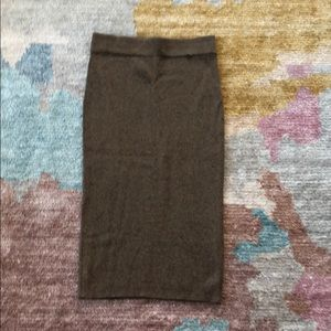 Anthroplogie Knitted Pencil Skirt